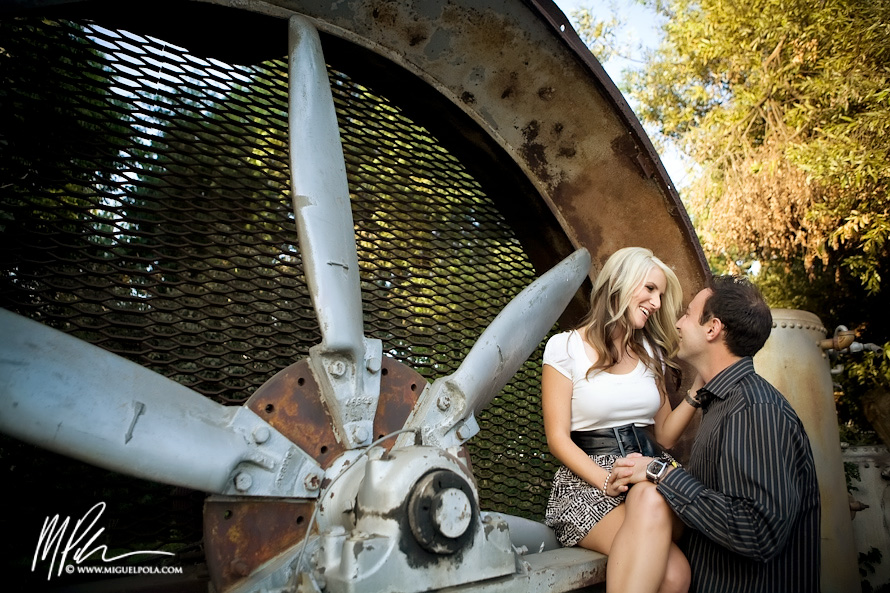 Disney Concert Hall Engagement Photography | Orange County Wedding Photographers