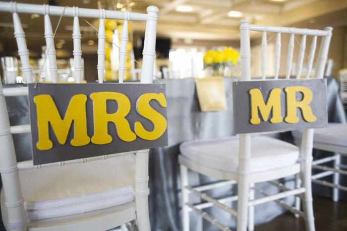 A Fresh Gray and Yellow Wedding ~ A Good Affair Event Design - A ...