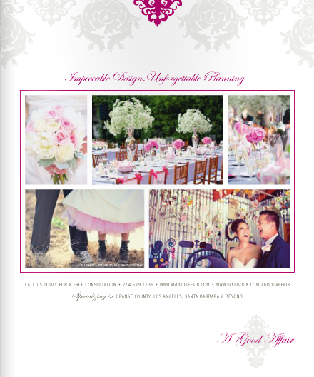 Check Out Our Gorgeous Full Page Ad In The Ceremony Magazine As Well We Are Love With It Let Us Know What You Think