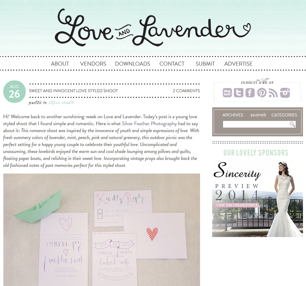 Love and Lavender, Summer wedding shoot, A Good Affair Wedding & Event Production