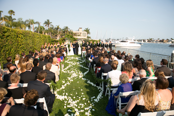 Married By The Beach A Nautical Southern California Wedding Balboa Bay Resort