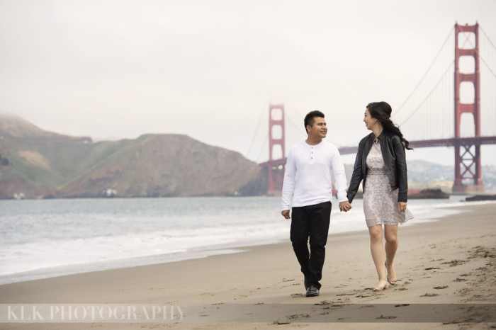 KLK Photography, SF engagement, A Good Affair Wedding & Event Production
