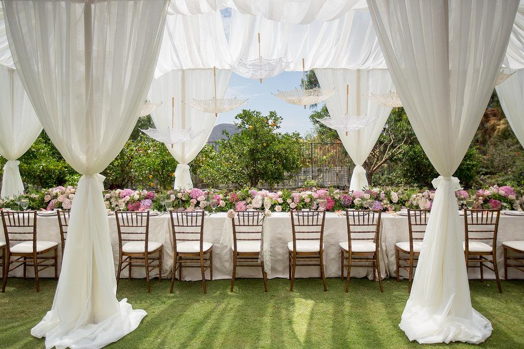 bridal shower for michella private estate orange ca