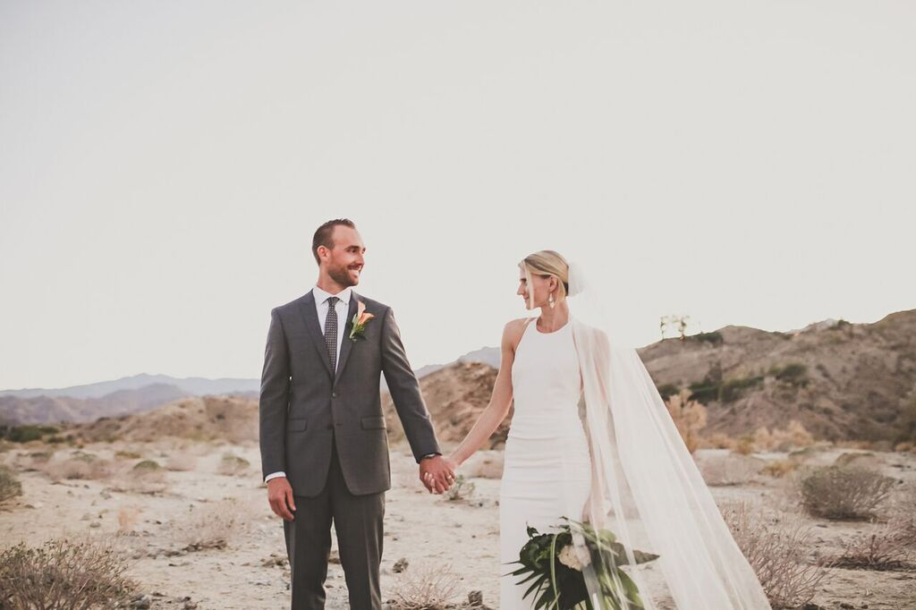 Featured Wedding Modern Eclectic Palm Springs