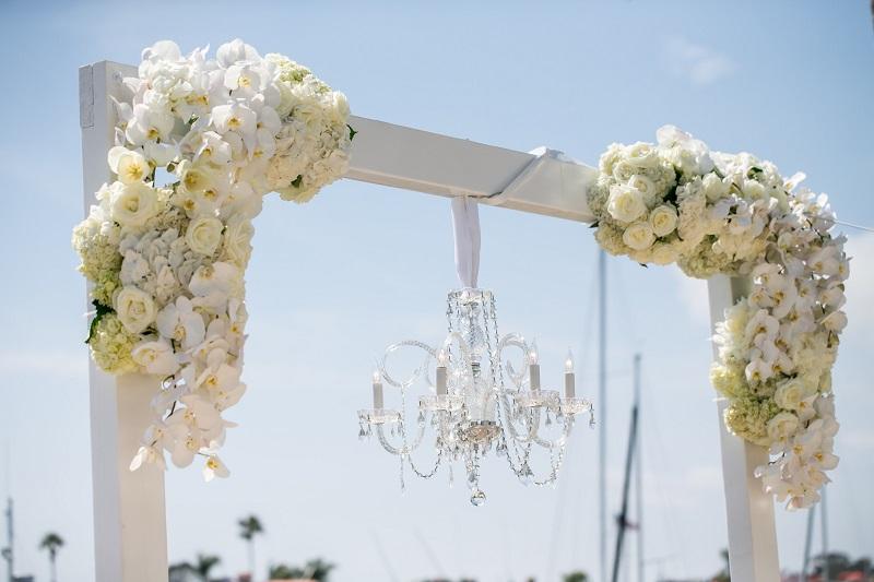 modern glam balboa luxury wedding a good affair