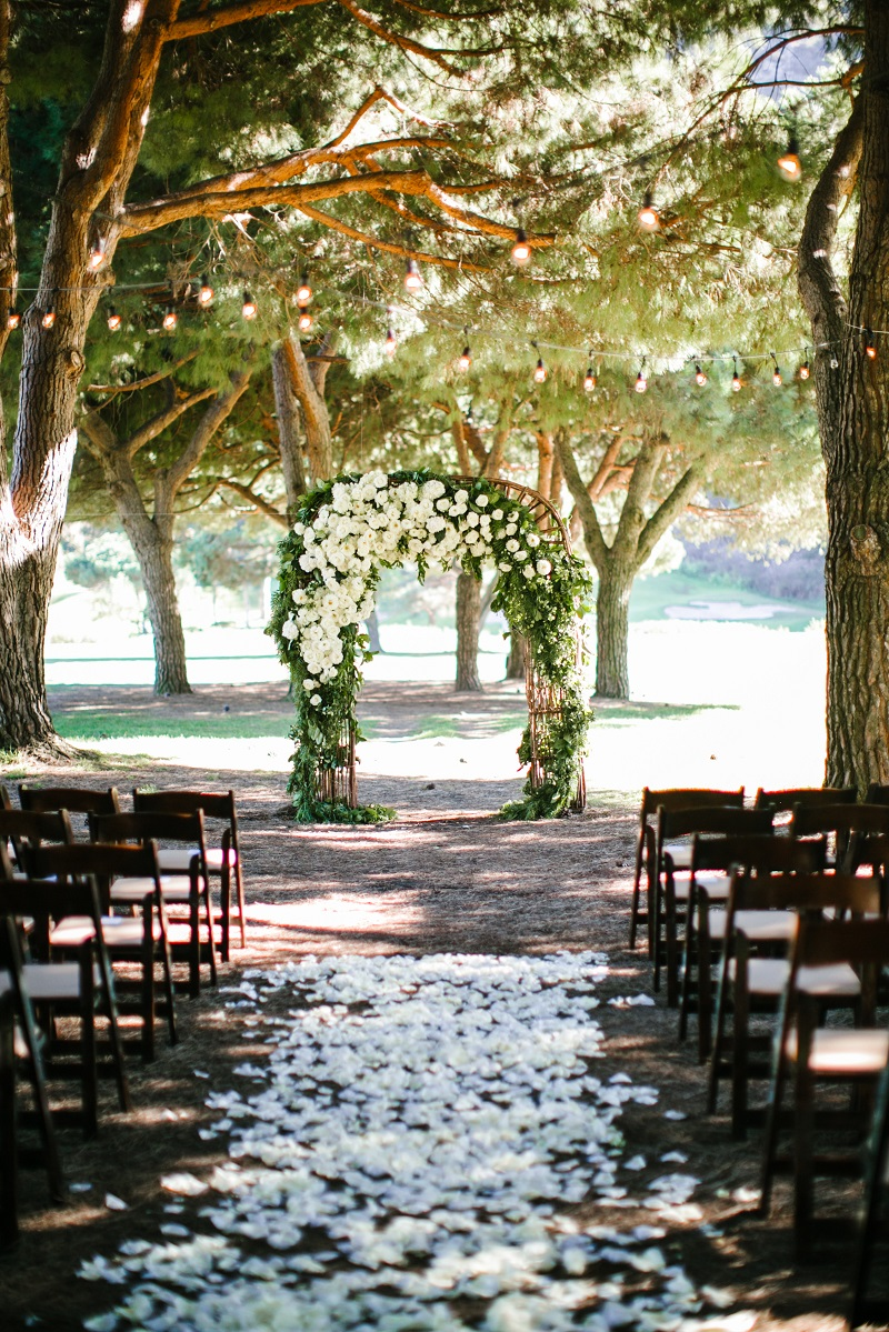 rustic laguna beach wedding luxury event design orange county planner the ranch