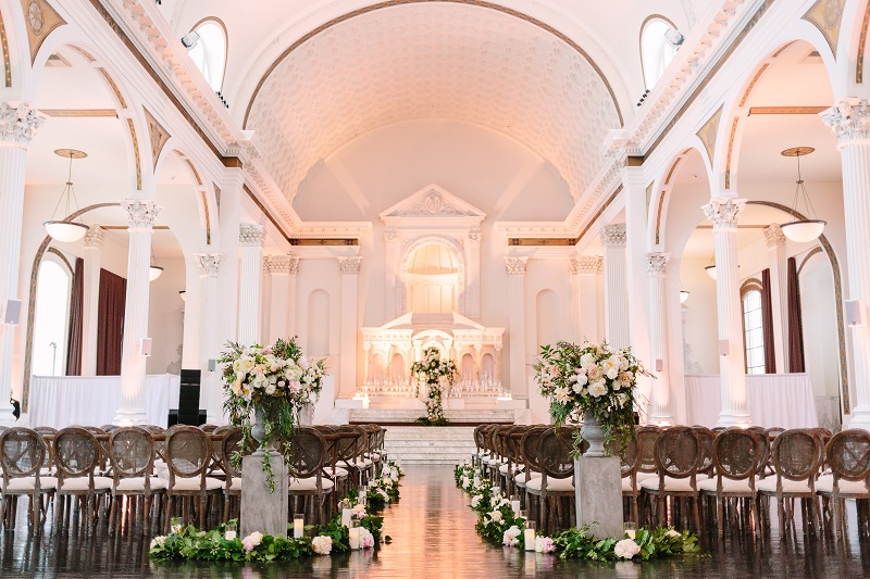 adriatic chic vibiana destination los angeles luxury wedding