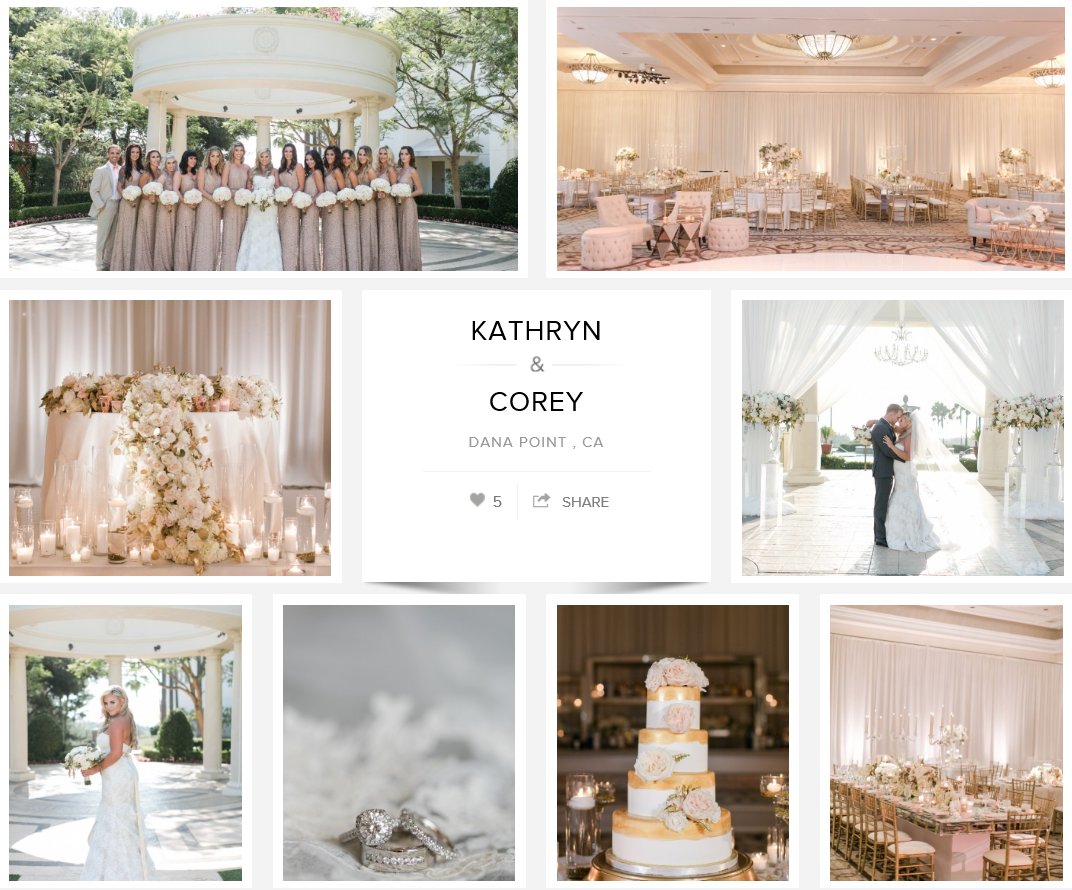 Luxurious St. Regis Monarch Beach Wedding by 2016 Best Wedding Planner of Orange County Natalie Good, A Good Affair Wedding & Event Production Carats & Cake Feature St. Regis Monarch Beach Wedding