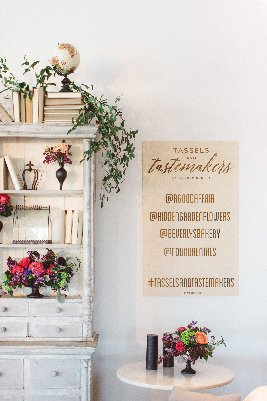 Tassels & Tastemakers Wedding Industry Party