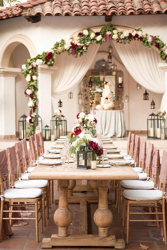 ceremony magazine feature silverado wedding designer orange county