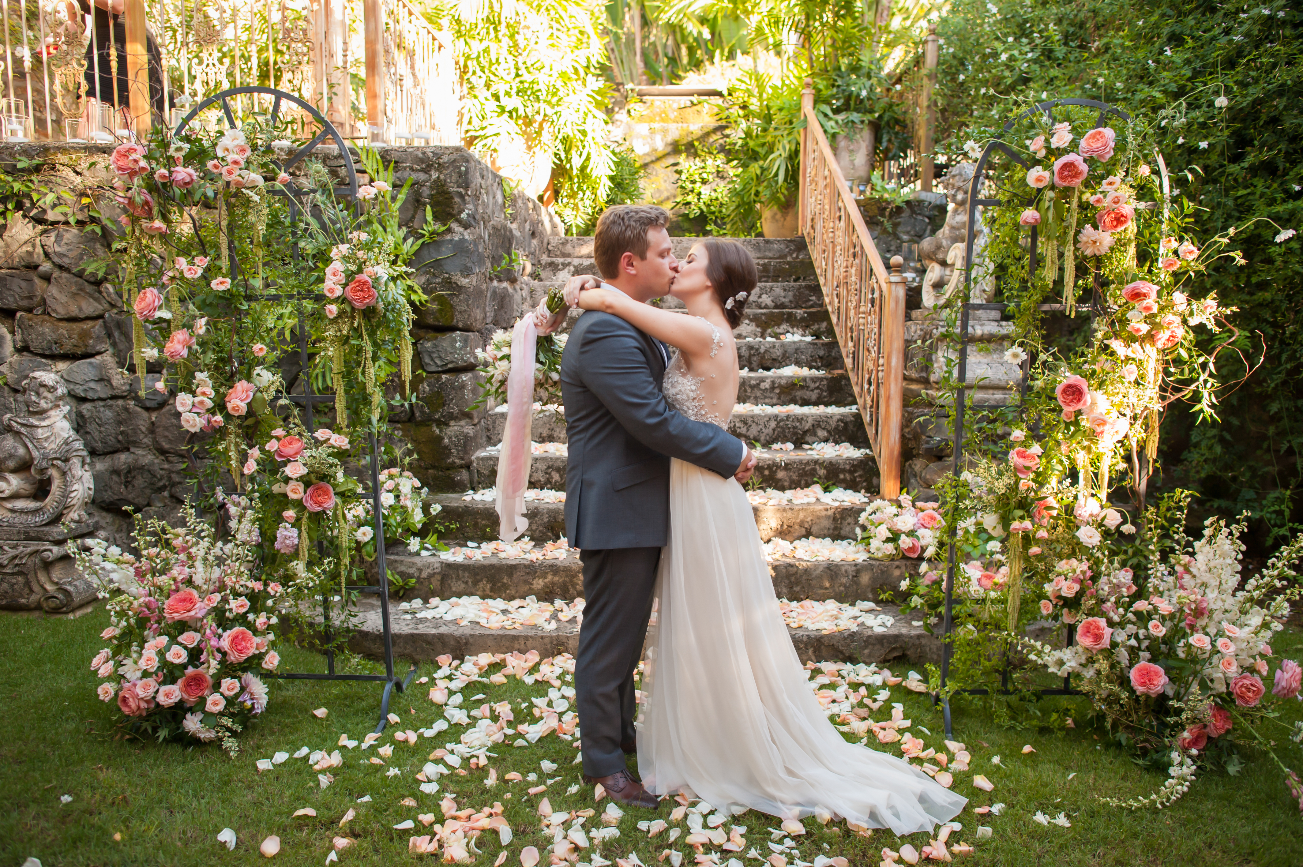 Destination Wedding Hawaii Luxury Designer fairytale