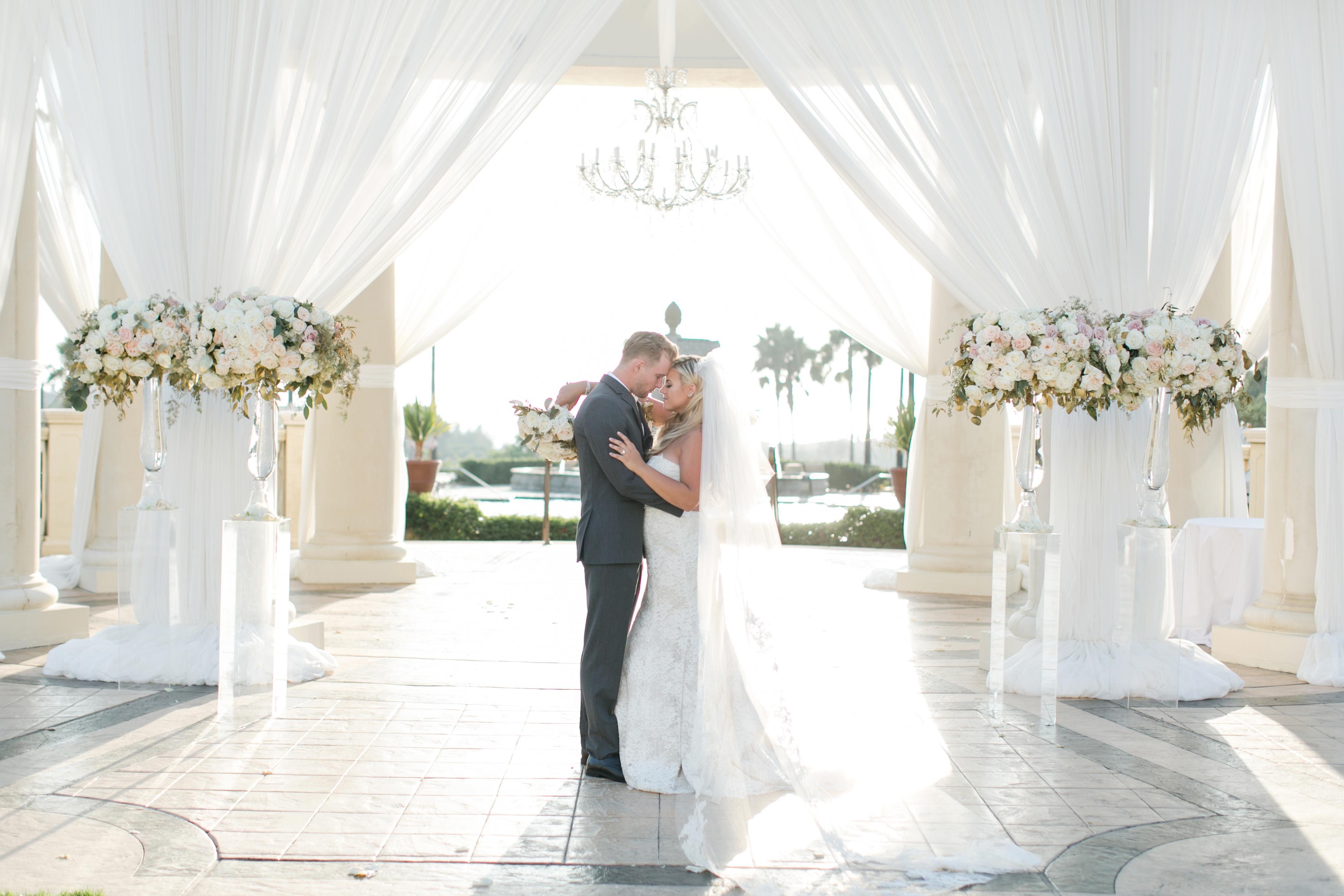 one year wedding anniversary monarch beach resort southern california luxury wedding