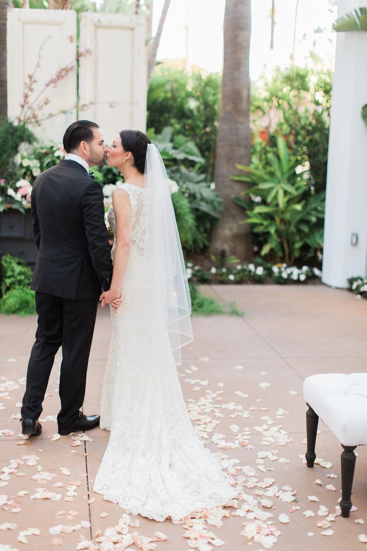 Newport Beach Island hotel luxury wedding fall color inspiration wedding designer