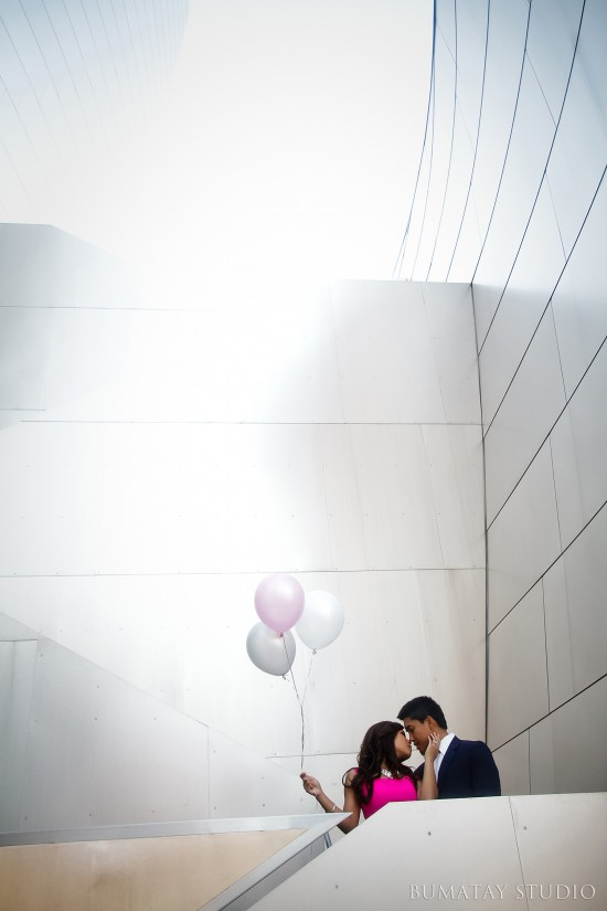 Bumatay Photography, Westin South Coast Plaza Weddings, Pink Silver Gray Wedding colors