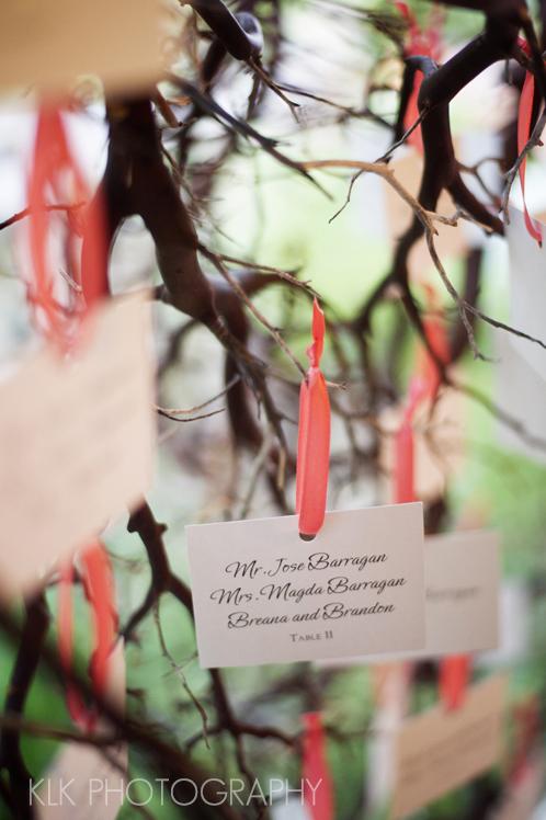 KLK Photography, Rancho Las Lomas Wedding, Unique Escort Cards, A Good Affair Wedding & Event Production