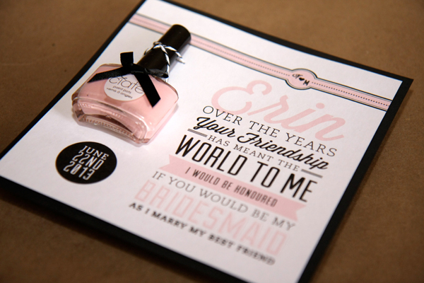 Creative Bridal Party Invitations | Friday Fab Find | A Good Affair Wedding & Event Production