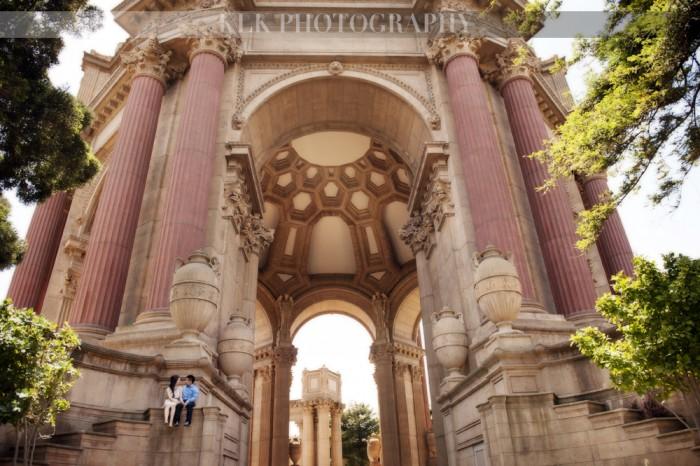 KLK Photography, SF engagement, A Good Affair Wedding & Event Production