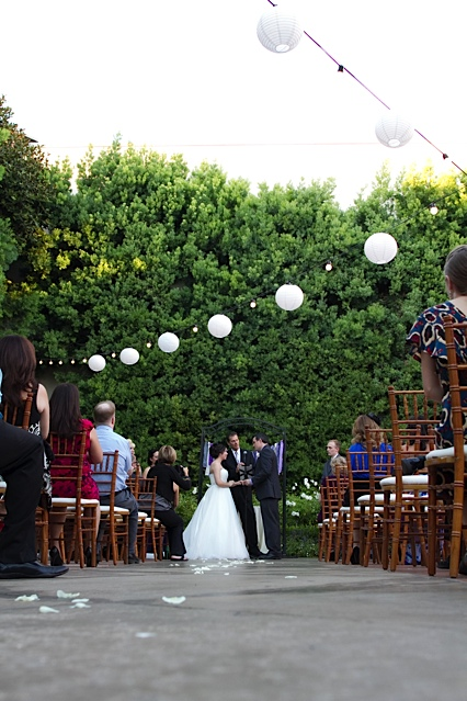 Franciscan Gardens wedding, Two Rings and a Dress, A Good Affair Wedding & Event Production, DIY wedding