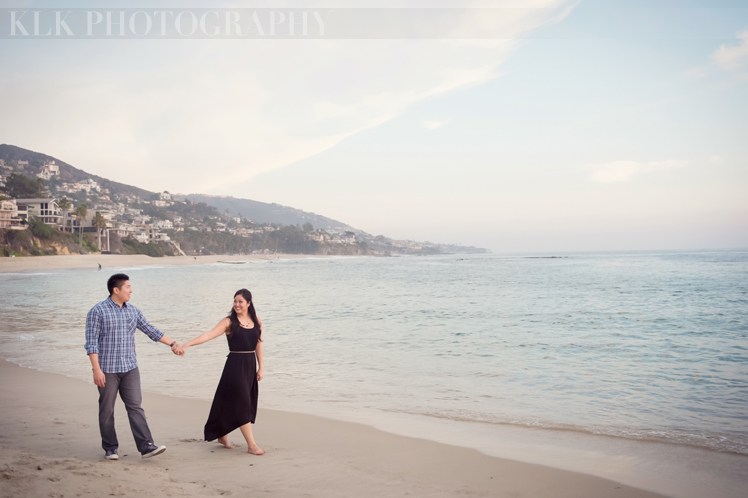 KLK Photography | Laguna Beach Engagement Shoot | A Good Affair Wedding & Event Production | Orange County Wedding Planner