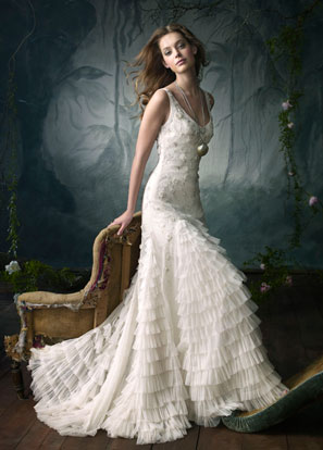 Lazaro Bridal Gowns, Wedding Dresses Style LZ3060 by JLM Couture, Inc.