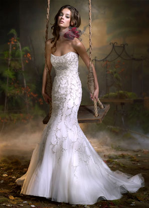 Lazaro Bridal Gowns, Wedding Dresses Style LZ3903 by JLM Couture, Inc.