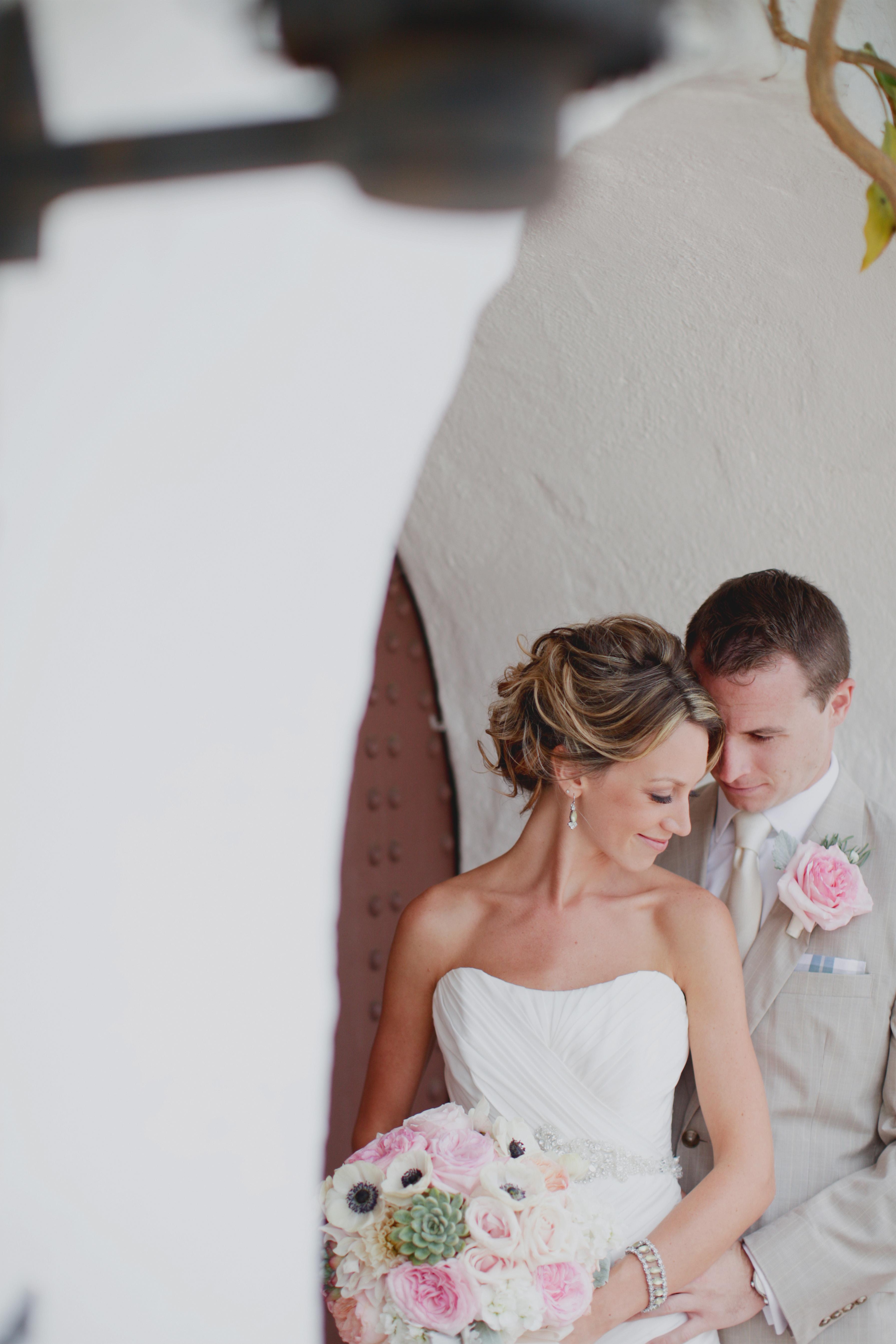Casa Romantica wedding, San Clemente Wedding, Brandon Kidd Photography, fresh herb wedding decor