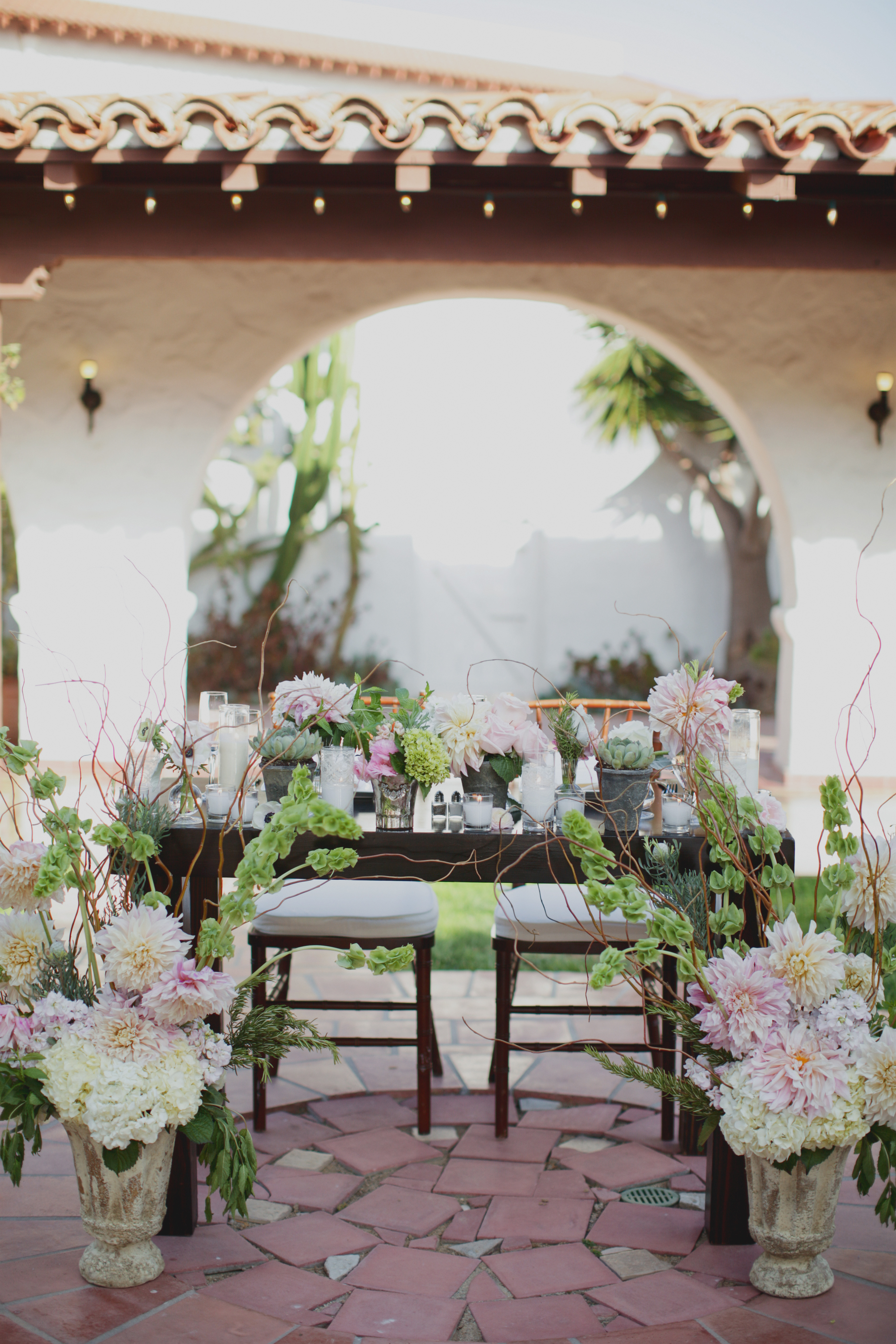 Casa Romantica wedding, San Clemente wedding planner, Outdoor Spanish wedding venue