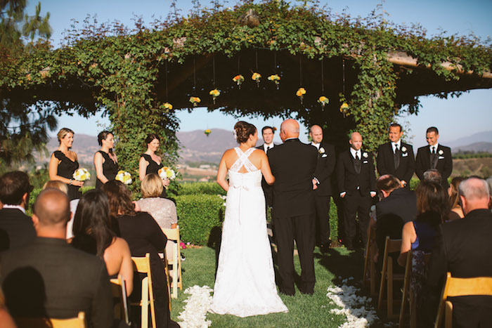 Tuscan Style Wedding at South Coast Winery, Temecula CA | A Good Affair Wedding & Event Production | Brandon Kidd Photography