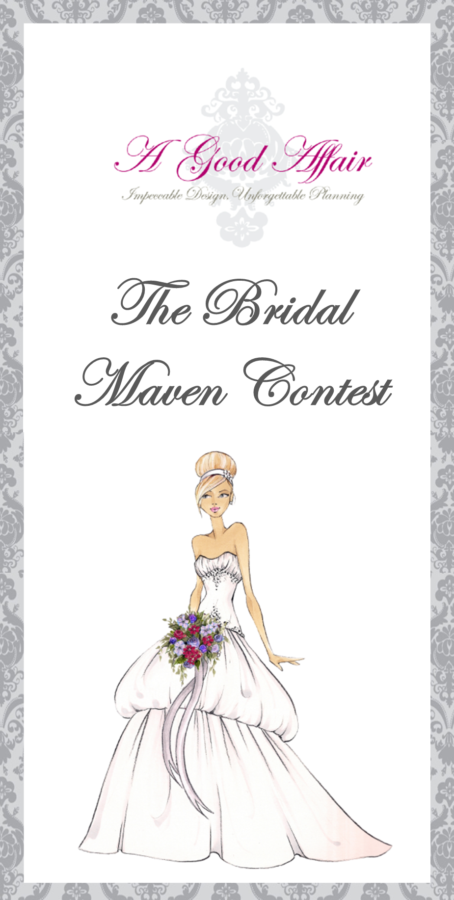 A Good Affair Wedding & Event Production Bridal Maven Contest
