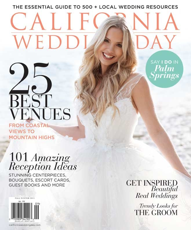California Wedding Day ~ A Good Affair Wedding & Event Production Awarded 'Beautiful Design', The Haute List 2013