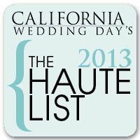 CWD, California Wedding Day Haute List 2013, A Good Affair Wedding & Event Production