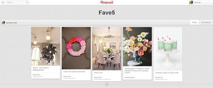 AGoodAffairJenn's Fav5 Pinterest Pins