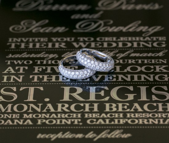 Christine Bentley Photography, Cartier rings, East Six invitations