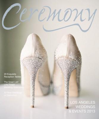 Los Angeles Ceremony Wedding Magazine, A Good Affair Wedding & Event Production