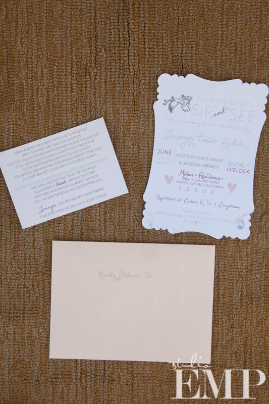 Baby Shower, A Good Affair Wedding & Event Production, Sip & See, Studio EMP, Darla Marie Designs