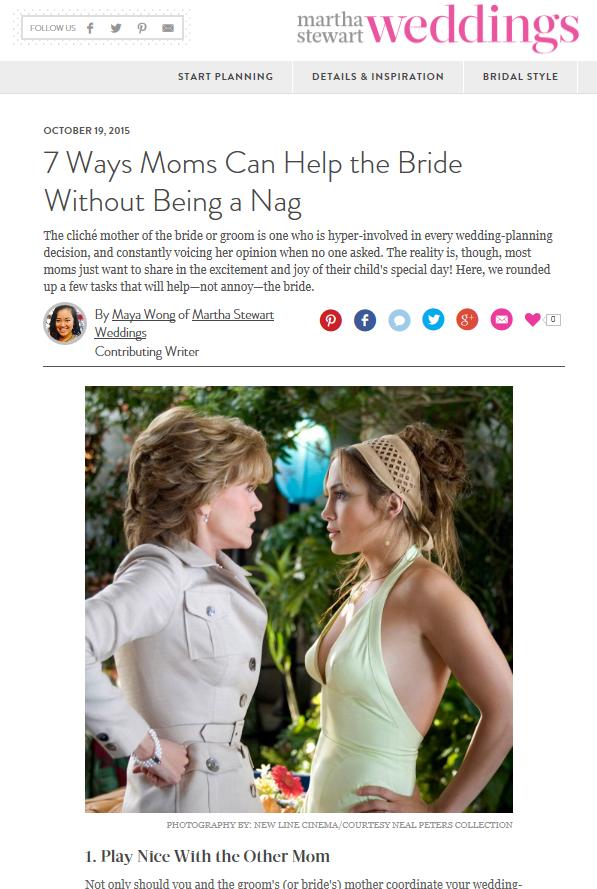 Martha Stewart Weddings Blog