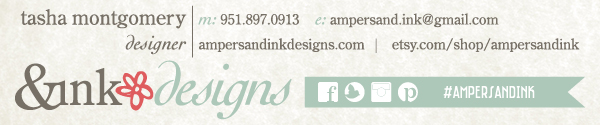 Friday Fab Find ~ Ampersandink ~ A Good Affair Wedding & Event Production