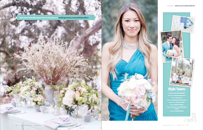Styled shoot, Wedding Photoshoot, teal photoshoot,