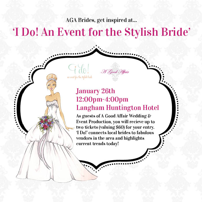 I Do! An Event For the Stylish Bride
