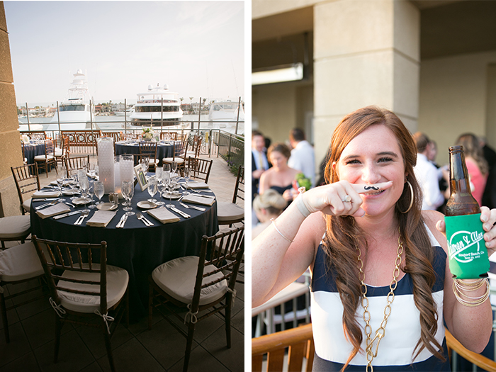 Married by the Beach, A Nautical, Southern California Wedding | Balboa Bay Resort | A Good Affair Wedding & Event Production | Couture Foto