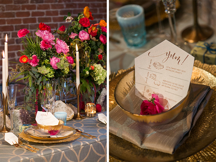 Luxe Launch Party, Boho Chic Design, Loft Design