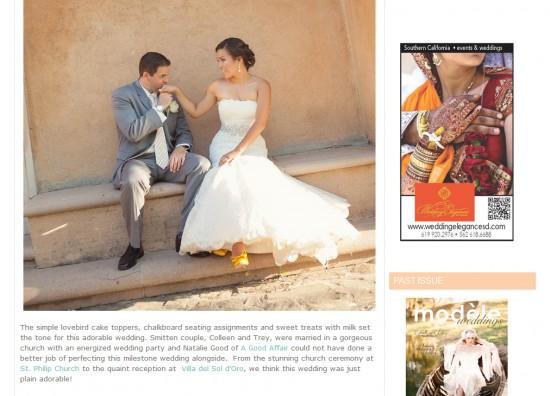 Modele Weddings, Villa del Sol d'Oro wedding, Pasadena Wedding, A Good Affair Wedding & Event Production
