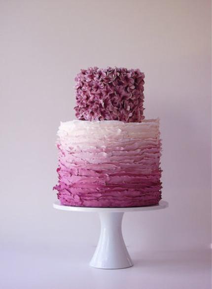 Maggie Austin Cake - Ombre Cake
