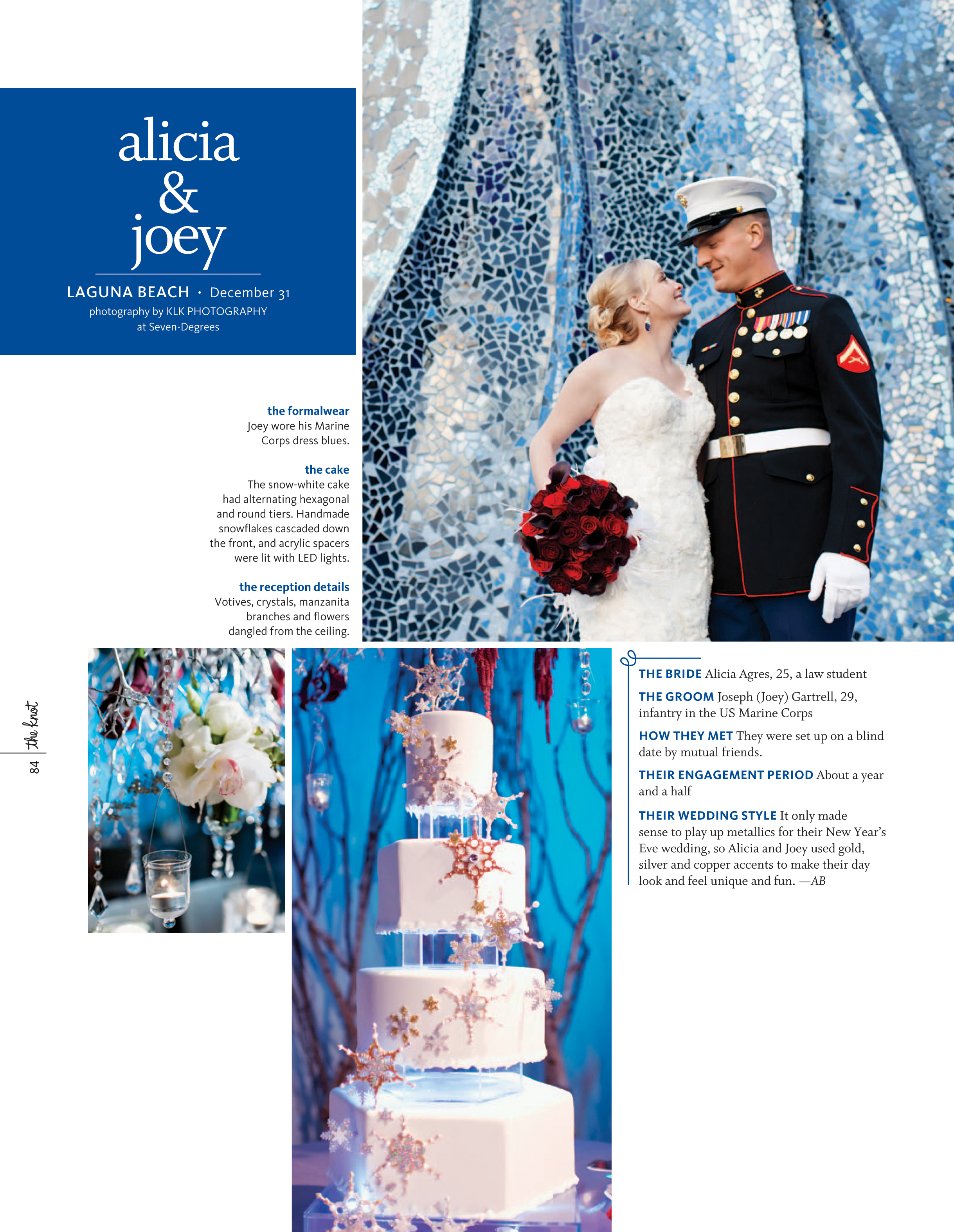 seven degrees laguna beach wedding, winter wedding, new years eve wedding, military wedding, A Good Affair Wedding & Event Production, KLK Photography